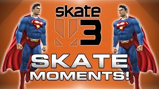 Skate 3 Funny Moments! - Meatpack, Crazy Tricks, Pool Party and More!