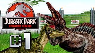 Genesis - Jurassic Park Operation Genesis [ Jurassic Park Month ]
