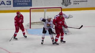 Juha Metsola in action during the Spartak @ Amur hockey game 25 sept. 2017