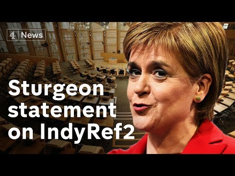 Nicola Sturgeon on Brexit and another Scottish independence referendum - LIVE