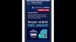 BLOC Dashboard App - Get your 1st cryptocurrency BLOC coin for FREE