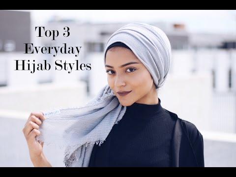 Top 3 Everyday Hijab Styles