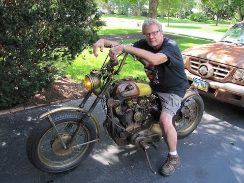 Tony Cochran Guitars Custom Harley Motorcycle for Sale