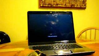How to fix the HP Pavilion dv6000 / dv9000 black / blank screen problem
