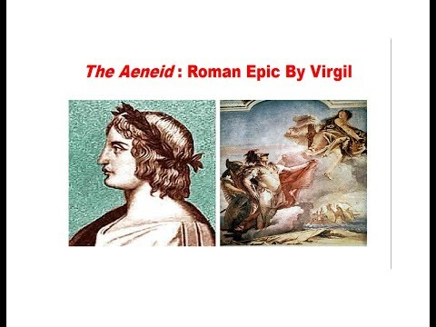 The Aeneid : Roman Epic By Virgil discussed in detail in Hindi
