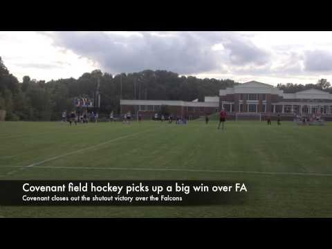 Covenant hockey shuts out Fredericksburg Academy