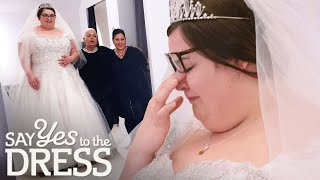 Bride Bursts Into Tears When Dream Dress Doesn't Live Up To Expectations | Curvy Brides Boutique