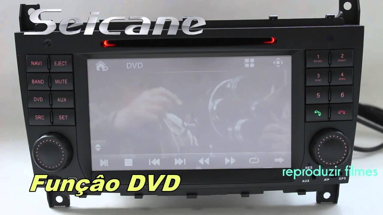 2004 2005 mercedes benz clk w209 gps carro autoradio tv. Black Bedroom Furniture Sets. Home Design Ideas