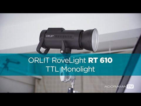 ORLIT RoveLight RT 610 TTL Monolight: Single Light Headshots