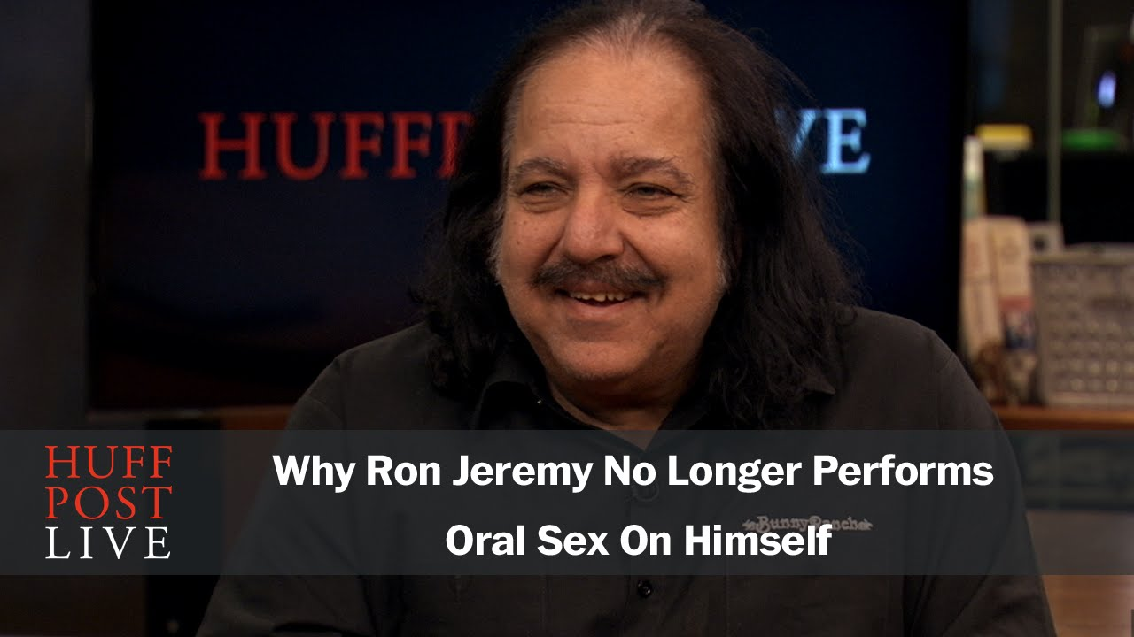 XXX trends pics ron jeremy giving himself a blowjob