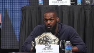 Daniel Cormier, Jon Jones verbally battle at UFC Undisputed presser.