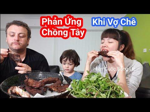 Ăn sườn nướng CHỒNG TÂY nấu MÓN ĂN ẩm thực Việt Nam Gia đình Việt Úc vợ chồng Chris Cuộc Sống Úc