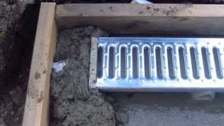 Install A Trench Drain Video 5 Of 7