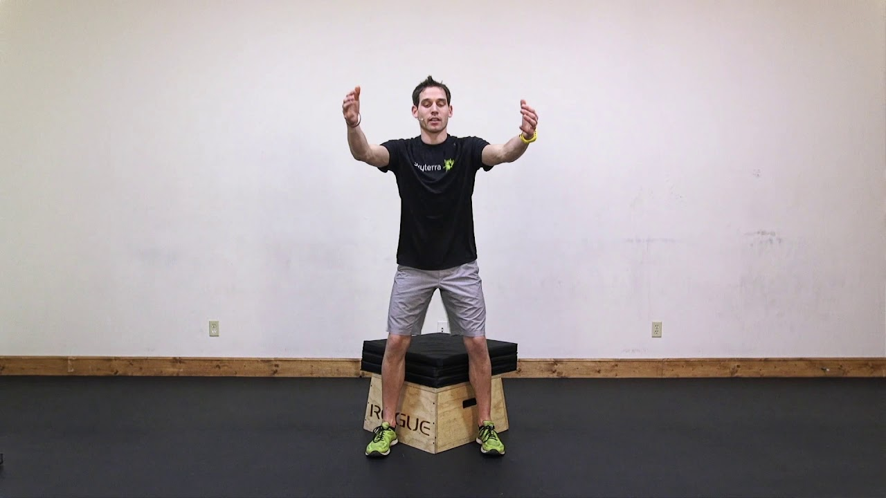 Lean: Box Squat, Dumbbell Row, & Plank Hold