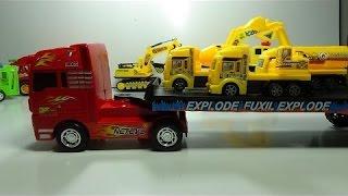 большие грузовики транспортирует другие небольшие грузовики |   ребенок видео |   игрушечный автомоб(большие грузовики транспортирует другие небольшие грузовики | ребенок видео | игрушечный автомоб больши..., 2016-10-22T10:18:45.000Z)
