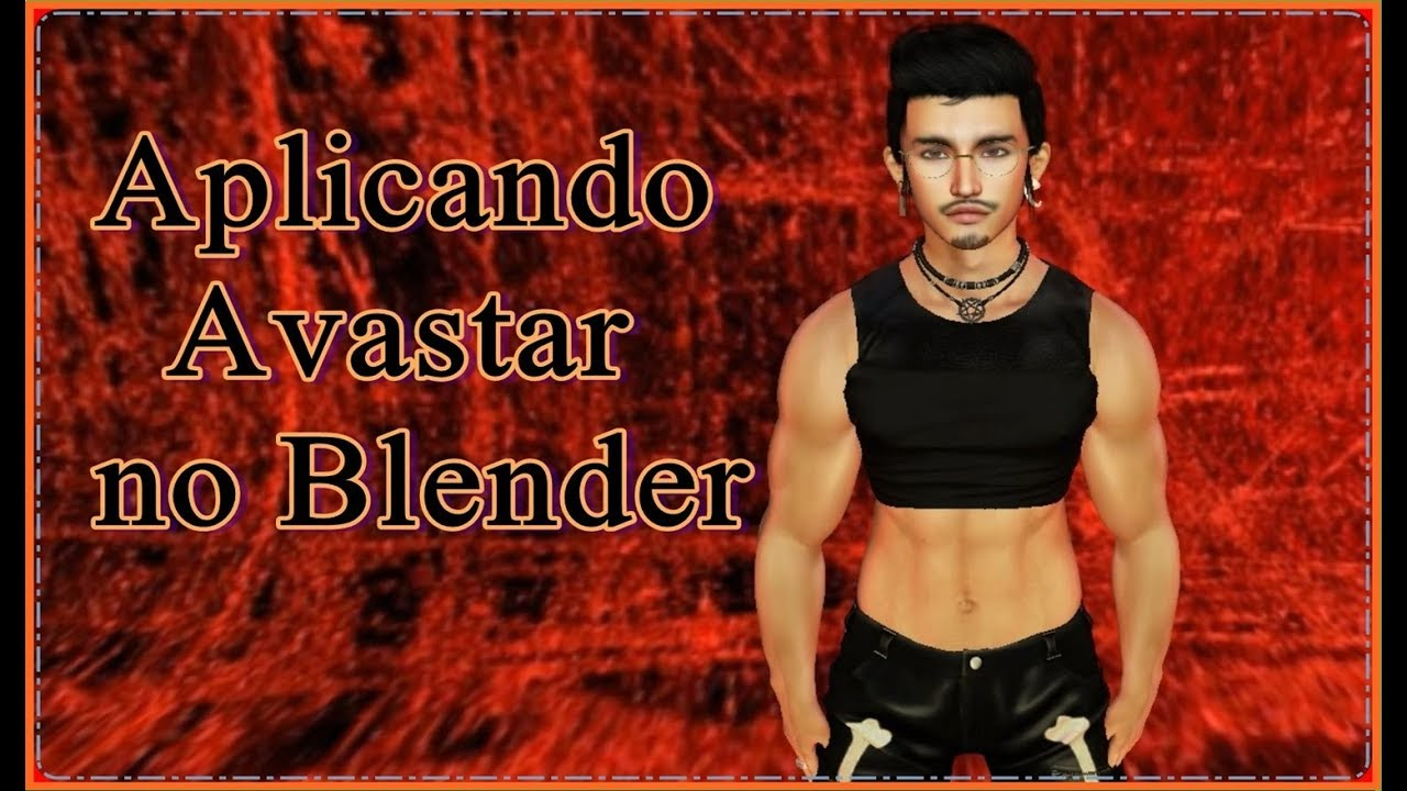 Add-on Blender avastar para Second Life | Lord W Games