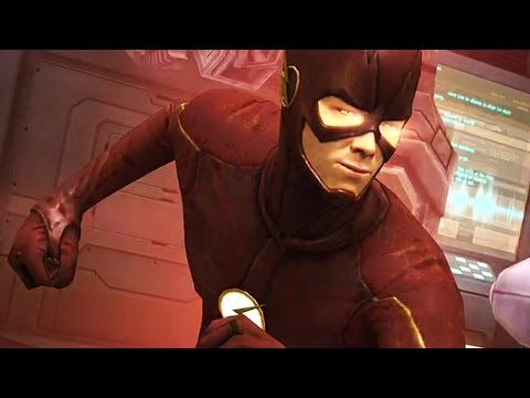 Injustice: Gods Among Us - Metahuman Flash Super Attack Moves