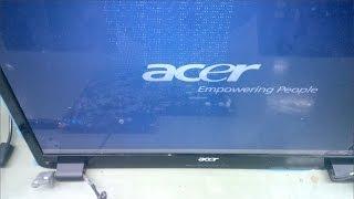 Acer Aspire 7740G karta graficzna naprawa, artefakty,  problem z obrazem, uszkodzona pamięć VRAM BGA