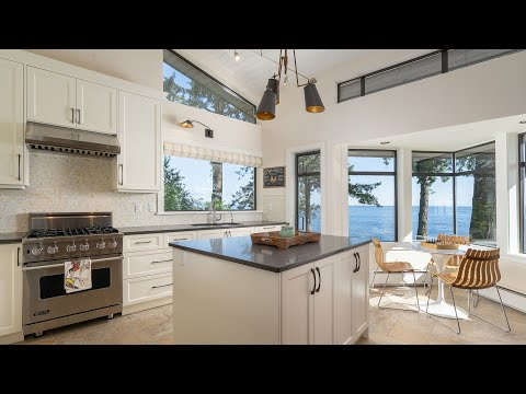 City Escape Home on Bowen Island | Tranquil Waterfront Property Tour