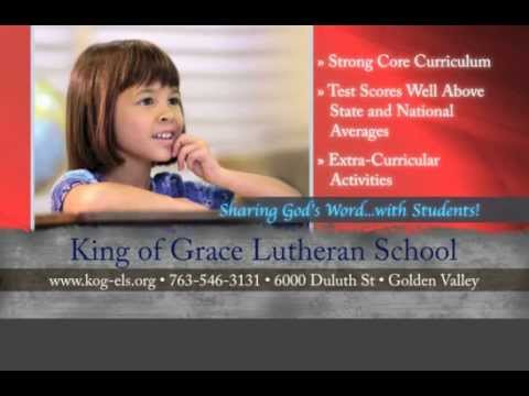 King of Grace Lutheran School, Screenvision Ad