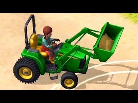เกมส์ หัดทำฟาม มีรถตัก รถยก รถเกี่ยว และอื่นๆอีกมากมาย - Little Farmers