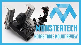 monstertech hotas table mount review