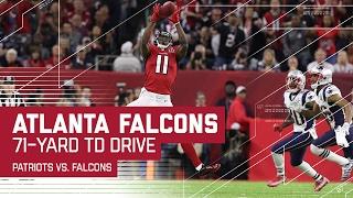 Julio Jones & Freeman Lead Falcons on TD Drive! | Patriots vs. Falcons | Super Bowl LI Highlights
