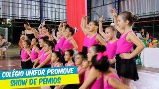 COLÉGIO UNIFOR PROMOVE SHOW DE PRÊMIOS