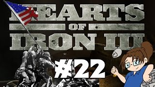 Hearts of Iron 3 - United States of America - Ep 22 [Marines march across Japan]