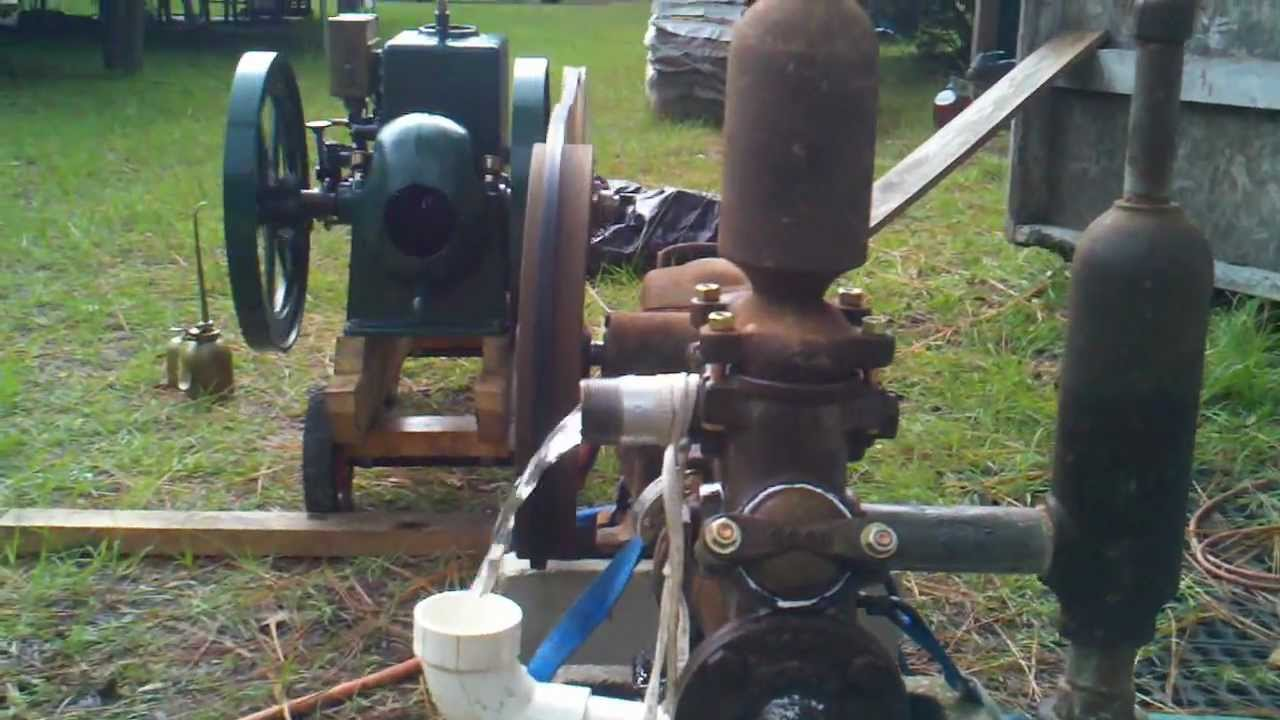 Antique Myers Piston Water Pump Youtube