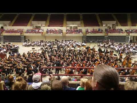 Carmen - Toreador by Central and Logan Combined Orchestras