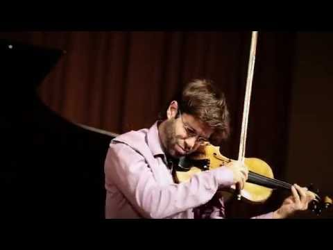 Tartini / Kreisler: Variations on a Theme by Corelli -  Tomas Cotik, violin - Tao Lin, piano