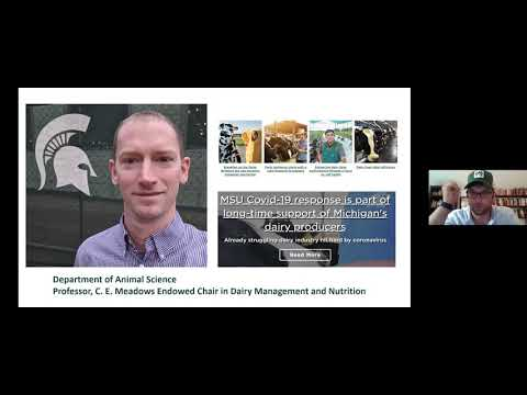 Dairy Industry And COVID-19, Featuring Dr. Barry Bradford