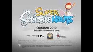 Super Scribblenauts - Trailer brasileiro - Nintendo DS - Warner Games