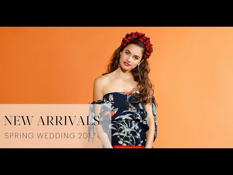 New Arrivals Spring Weddings 2017 | GlamCorner
