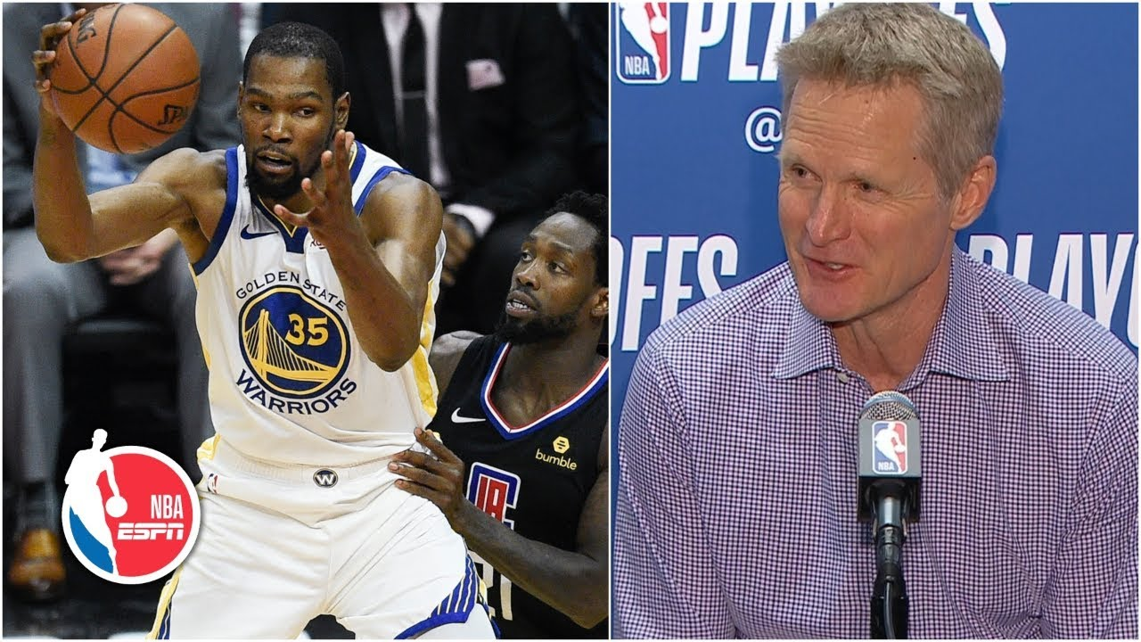 8aec8ed5dd9 KD  showed everyone who Kevin Durant is  - Steve Kerr