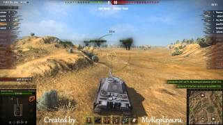 WOT: Steppes - Panther II - 5 frags -