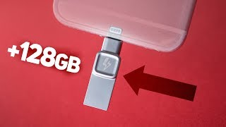 Add STORAGE to your iPhone! - Kingston Bolt Duo Review!