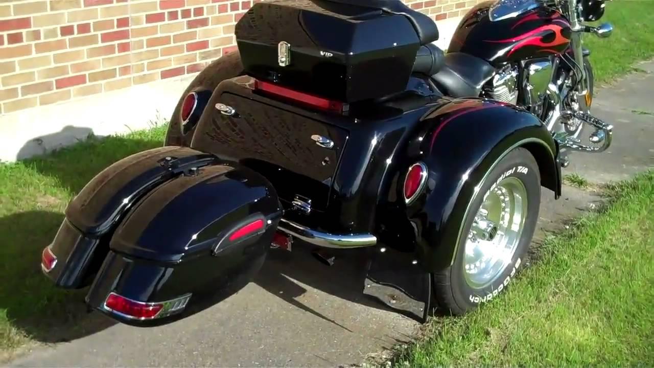 SOLD! 2006 Honda VTX 1800 Trike - YouTube