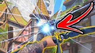 200IQ Hanzo Flickshot!! - Overwatch Snipes Montage