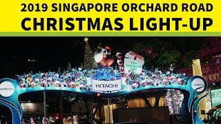Cover images 2019 Singapore Orchard Road Christmas light-up