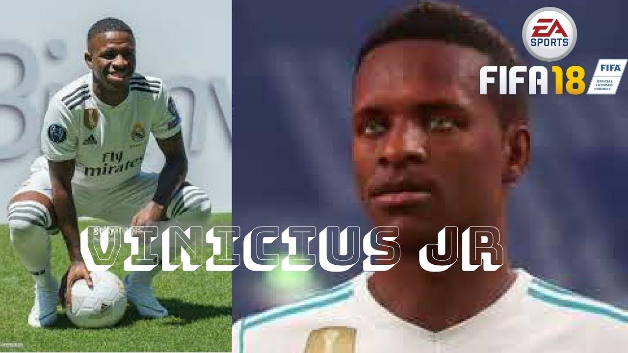 Vinicius Junior Fifa 18