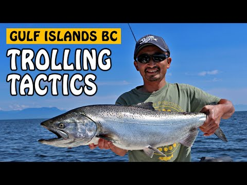 How To Fish: Gulf Islands Trolling Tactics