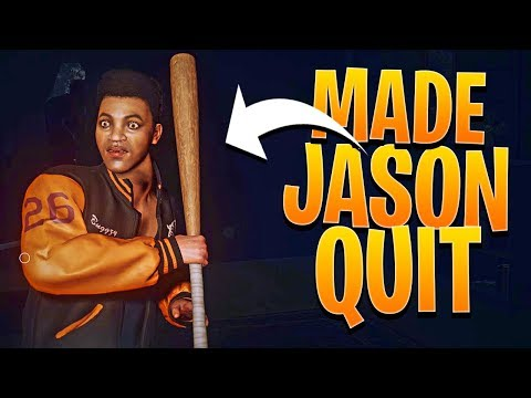 I Made Jason Rage Quit - Friday The 13th The Game