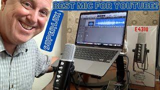 Superlux E431U usb-c microphone unboxing