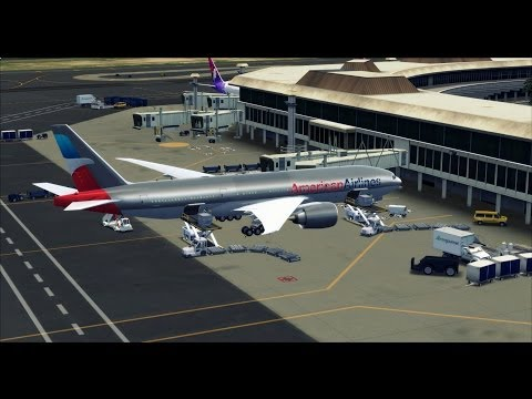 FSX Maxed Out | PMDG 777 | Landing At Honolulu International Airport