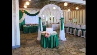 Украшение свадебного зала в Минске