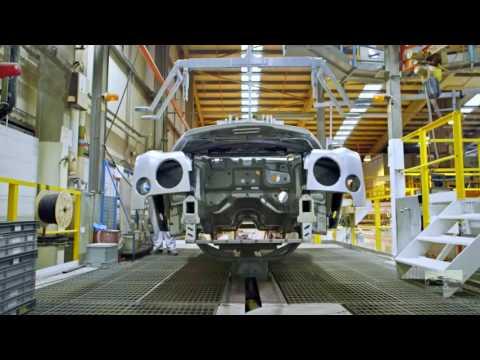 CAR FACTORY : BENTLEY MULSANNE PRODUCTION LINE l Pyms Lane Factory