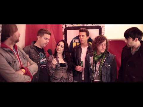 The Pigeon Detectives Backstage Interview - The Big Reunion 2012