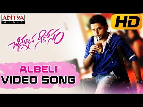 Albeli Full Video Song || Chinnadana Neekosam Video Songs || Nithin, Mishti Chakraborty